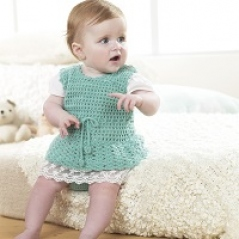 Baby Pinafore Set