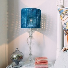 Tunisian Lace Lampshade