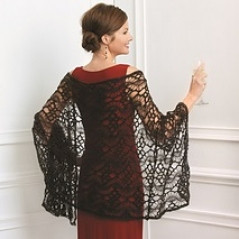 Hairpin Lace Stole
