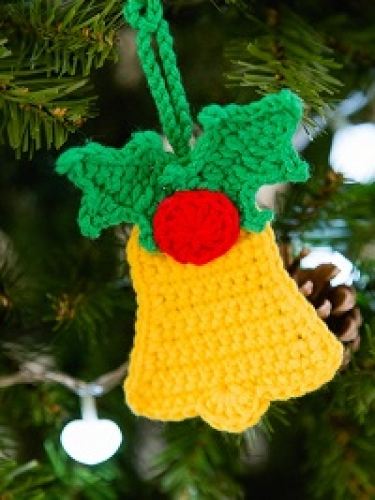 Deck the halls with bells of Crochet...