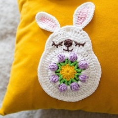 Spring Bunny Applique