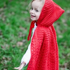 Little Red Riding Cape
