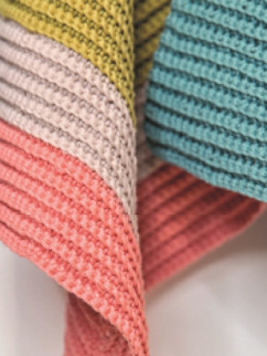 Colour Block Dishcloth