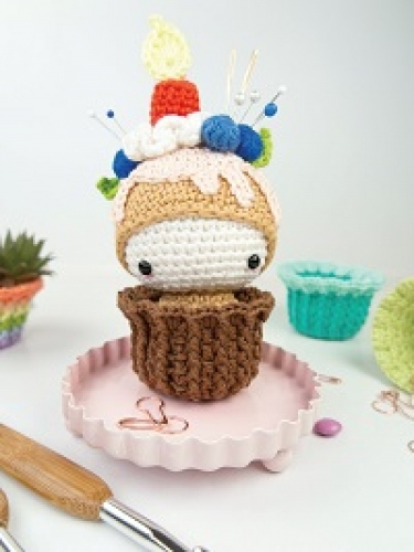 Win the yarn needed to make Cupcake Ella