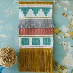 Fringed Wallhanging