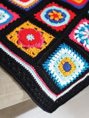 Win all the yarn needed to make the CAL Folklore Blanket