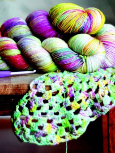 Win two mystery skeins of gorgeous yarn!