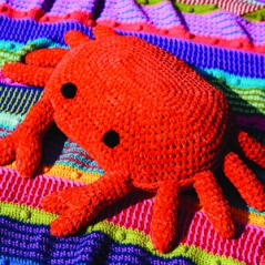 Cromer Crab Cushion