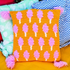 Candy Floss Cushion