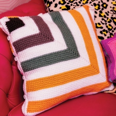 Mitred Squares Cushion