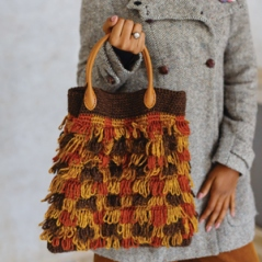 Check Loop Stitch Bag