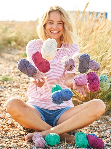 Win! A prize pack containing all 20 shades of the new Essentials Organic Cotton Aran