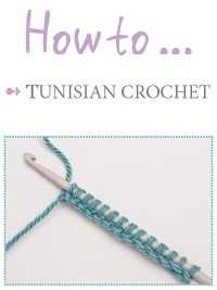 Free Tutorial: Basic Tunisian Crochet