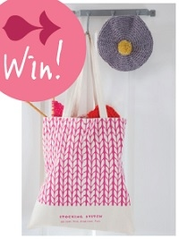 Not long left to win a Debbie Bliss Tote Bag