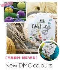 [Yarn News] New DMC Colours!