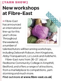 Don't miss: Fibre East (26–27 July)