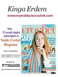Win a 12 month digi subscription to Inside Crochet!