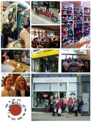 The Great London Yarn Crawl [20 Sept]