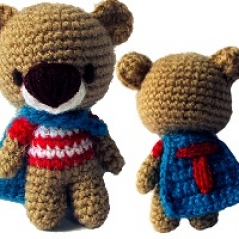 Free Pattern: Super Ted!
