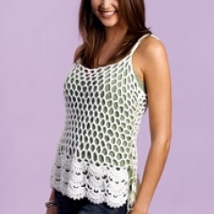 Free Pattern: Floral Cami