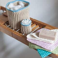 Cotton Bathroom Set