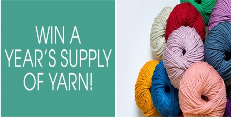 Win A Year's Supply Of Yarn With Deramores' Blog-Tastic Competition!