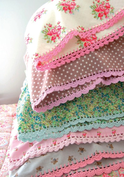 Crocheting On Fabric : ... use crochet edigngs? Inside Crochet Magazine Blog Inside Crochet