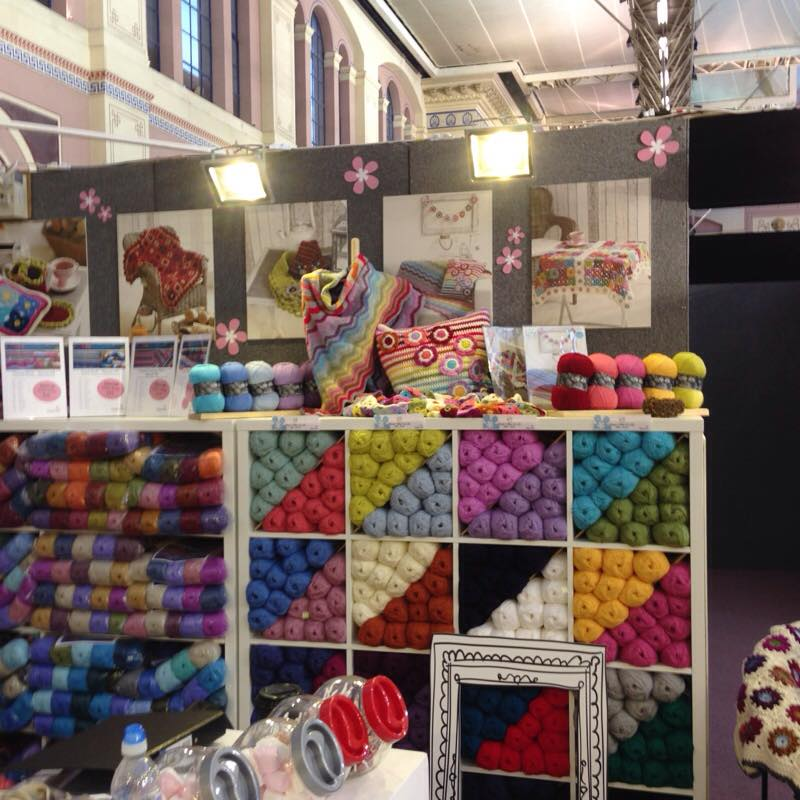 Knitting & Stitching Show, Ally Pally Inside Crochet Magazine, Blog I...