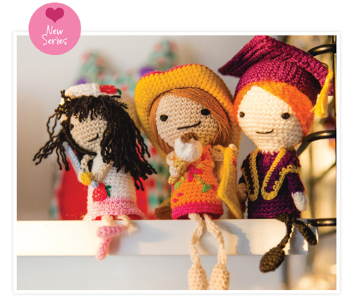 THE CALENDAR KIDS©️ JENNY JANUARY ©️ Crochet Doll Pattern - The ... | 430x500