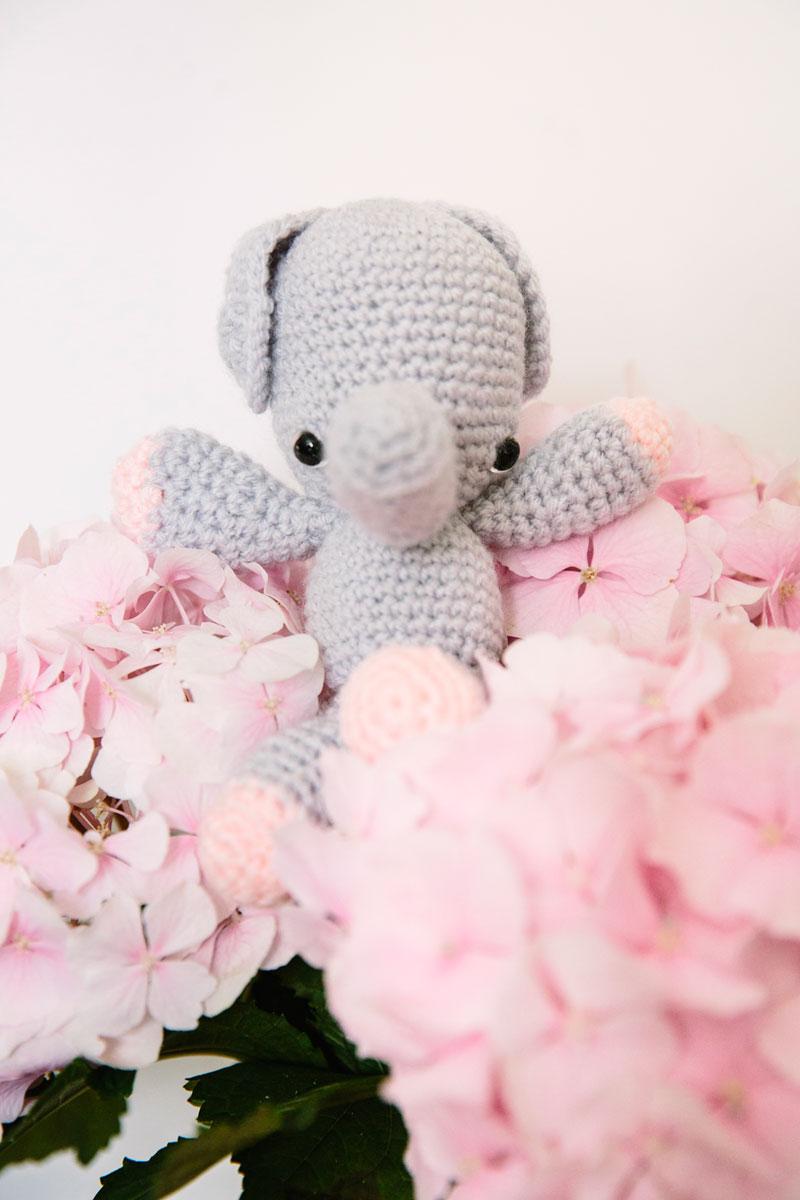 Crochet Ella the Elephant Amigurumi Free Pattern - #Crochet ... | 1200x800