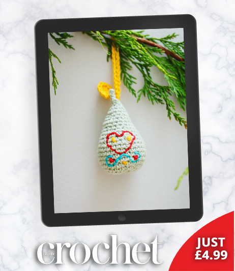 on the first day of christmas inside crochet magazine blog