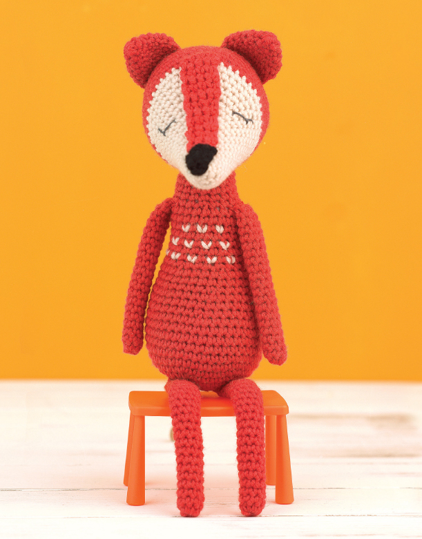 James the Fox - Crochet Pattern