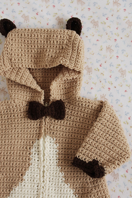 Baby Bear Playsuit By Simone Francis Inside Crochet Issue