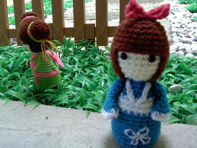 Amigurumi Free Pattern For Beginners : Free crochet pattern: Amigurumi Kokeshi Doll Inside Crochet