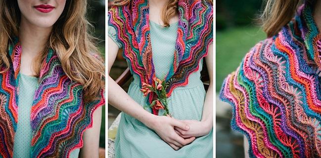 Ripple Shawl By Vicki Brown Inside Crochet Issue 53 Inside Crochet