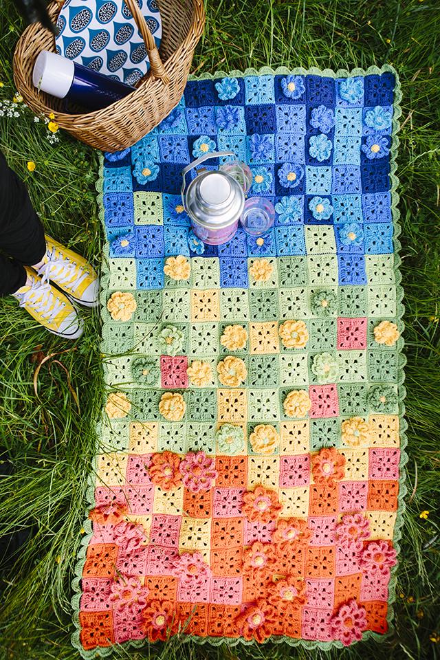Secret Garden Mystery Blanket Part 3 Inside Crochet Magazine Issue 69 Blog Inside Crochet