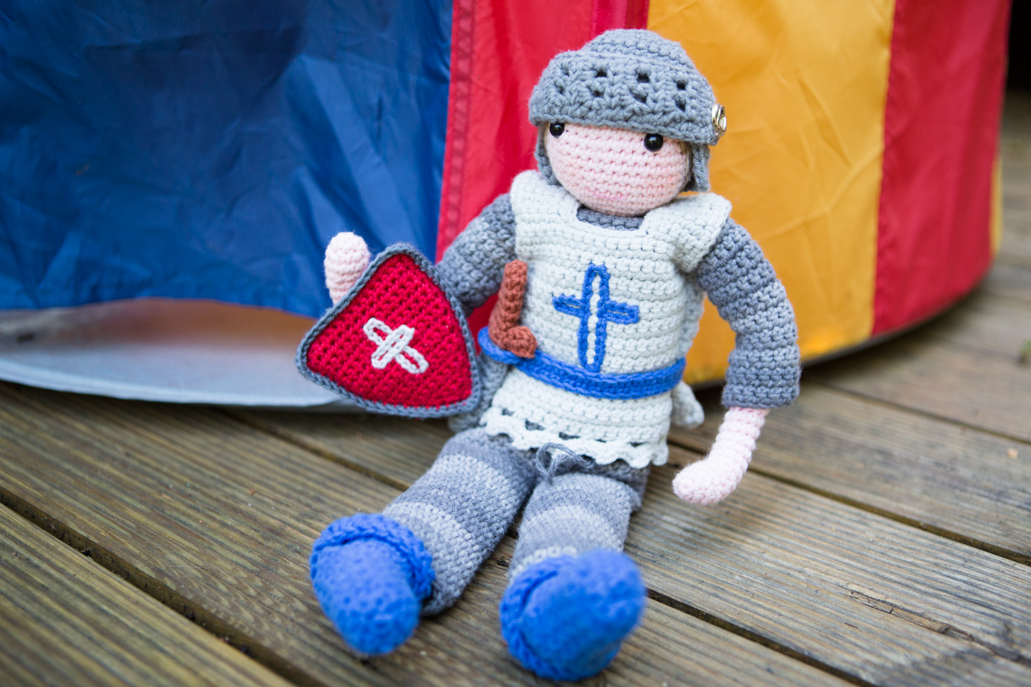 Amigurumi Magazine Uk : Knight doll inside crochet magazine inside crochet