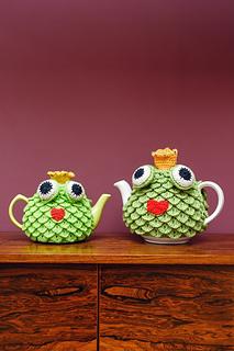 Frog Prince Tea Cosy Inside Crochet Magazine Blog