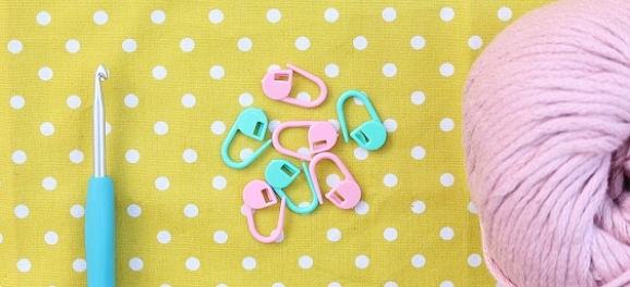 Free stitch markers with issue 70!